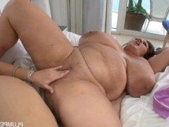 Samantha 38g maria moore lesbian massage