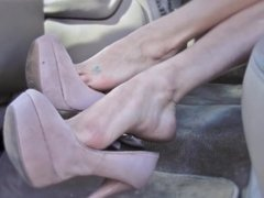 Big Sexy Feet Size 10 Dangle Arches Toes Soles Tease