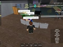 Hot brown haired minecraft drops pants for random guy