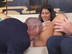 Young old hentai and super old man and old mature with young guy and old