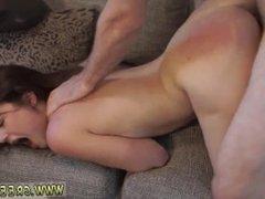 Male latex bondage and extreme kinky lesbian and huge dildo machine
