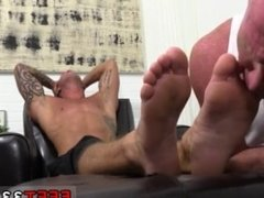 Hot guys sucking male feet movietures and gay dad with hard legs porn and