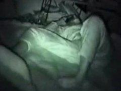 Teen masturbate with her boyfriend by phone hidden cam