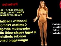 Sara Tommasi Naked Propaganda TV