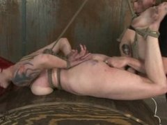 Redhead Domme Submits to a Male Dom Part 5