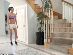 Family strokes friends step friends daughter punished and papa and