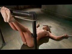 Girl Falaka Foot Torture