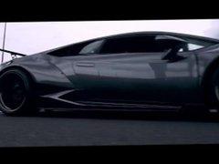 Lexy Roxx Lamborghini Huracan Car Porn