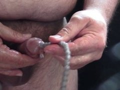 Silicone Urethral Sound and Pissing