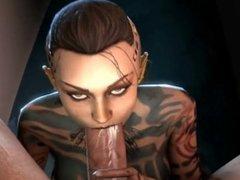 Mass Effect-Jack-Paragon or Renegade