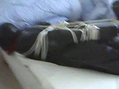 bondage in rubber