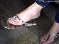 Sandals Feet POV