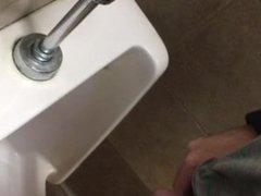 urinal spy: pee shy guy!