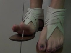 Ari's Sandal tease