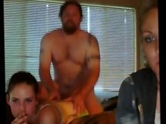 REAL dad and daughter Mom webcam