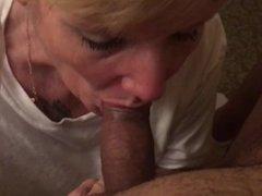 GILF sucking my cock in Vegas