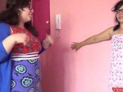 belly punch girls