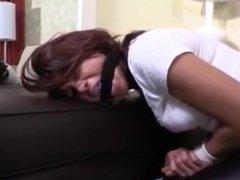 Babysitter bound and gagged