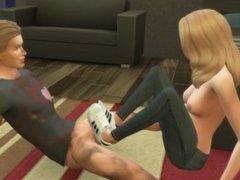 Adidas Superstars Shoejob Sneaker Sneakerjob Animated Sims Mod Hentai Anime