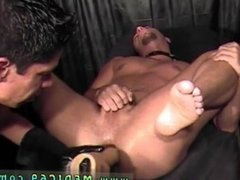 Prostate milking gay doctor Doctor changed up the pulse of the wires and