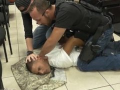 Gay cops fucking Robbery Suspect Apprehended