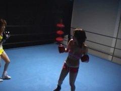 Japanese Lesbian boxing (visit my profile)