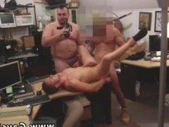 Straight amateur men boys gay xxx Guy ends up with rectal hump threesome