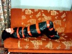 Trash bag mummificaion
