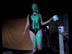 Amateur Swimsuit Slime Girl