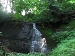 Nudist hike to Silverbrook Falls by Mark Heffron