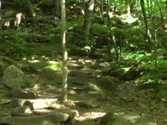Naked at Stephens Falls by Mark Heffron