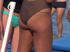 My Ex GirlFriend with Trasparent Bikini on Beach