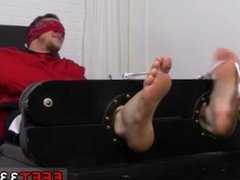 Big feet huge cocks young boys gay Kenny Tickled In A Straight Jacket