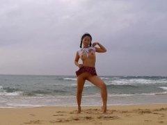 The seaside shooting - Behind The Scenes