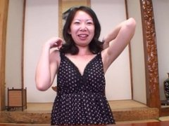 Tight Japanese cougar hasn't had sex in a long time and finally gets it