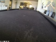 Cute blond gay pubic hairs movies first time Pool Cues And Balls At The