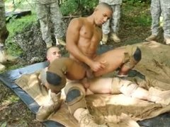 Black males riding and fucking black males gay first time Jungle plow fest