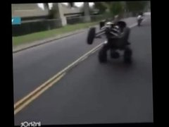 Guy on ATV gets fucked