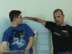 Straight gay get a shady massage and gay gym teacher seduces straight boy