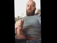 beard full of cum
