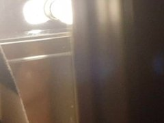 Spying on mother in law in shower