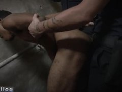 Emo gay sex police and hot cop gets his hand cock Suspect on the Run,