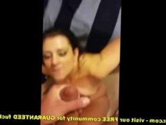 College Teen Sucks Cum For Cum Prize