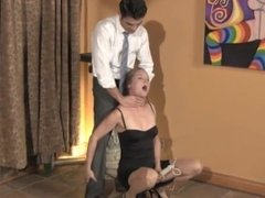 lady enjoy being choked by her lover