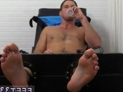 Teen gay foot fetish stories and male foot job male Chance Cruise Tickle d