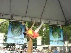 amputee girl dance