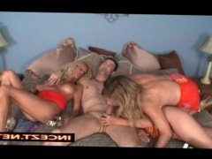 Mom brings 2 friends to make unforgettable foursome for her son's holidays.