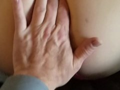 wife on couch pussy licked and fucked