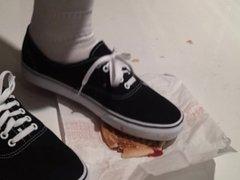 Vans crush a Hamburger