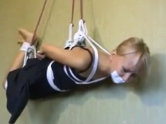 Foxy Suspended Hogtie